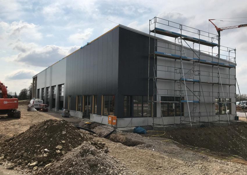Neubau Autohaus Wendling